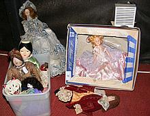 Selection of collectable dolls