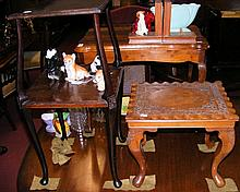 Three occasional tables