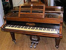 A John Broadwood & Sons of London - Cottage Grand Piano No.88 in rosewood