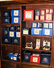 Various boxed collectable Teddy ornaments