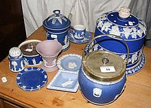 Wedgwood cheese bell, biscuit barrel etc.