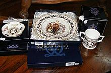Selection of boxed Royal Crown Derby china
