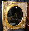Decorative gilt framed wall mirror