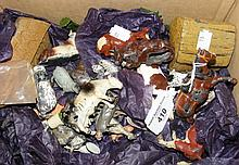 Selection of Britains and other lead farmyard animals