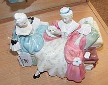 """A Royal Doulton figural group """"The Love Letter"""" - HN2149"""