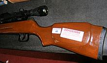 A good quality air rifle with scope