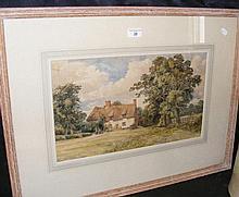 19th century ENGLISH SCHOOL - 26cm x 45cm -