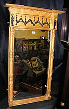 A Regency gilt framed wall mirror