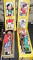 Four Pelham Puppets - boxed - including