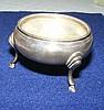 A Harrods silver salt in original box