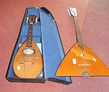 An Italian mandolin by Francesco Ferretti and