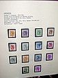 An album containing stamps relating to Hong Kong -