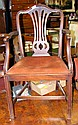An antique carver chair