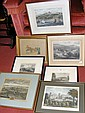A collection of three framed Isle of Wight