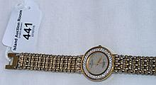 "A lady's Raymond Weil ""Champs Elysees"" wristwatch"