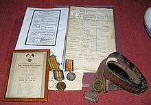 Set of First World War medals - Cecil Stanley Dennes - Royal Navy Volunteer