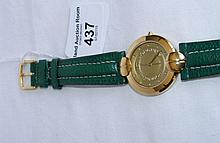 "Lady's Longines ""Rodolphe"" wristwatch with leather strap"
