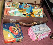 Various collectable children's books, together with two boxed toys and a do