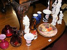 Selection of collectable glass and ceramicware