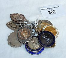 Selection of silver medals