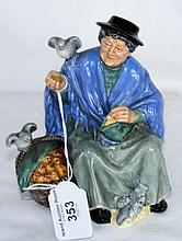 "Royal Doulton figurine ""Tuppence A Bag"" - HN2326"