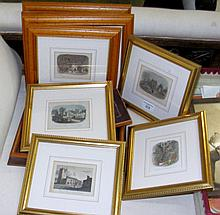 Selection of Isle of Wight and other engravings