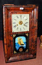 An American chiming wall clock