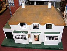 An old TRI-ANG Princess dolls house of rare large size - in the Art Deco st