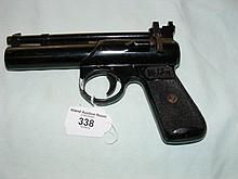 A Webley Junior Mk II air pistol