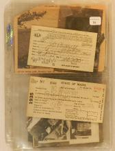 J.Carleton Bicknell - Assorted Memorabilia Lot