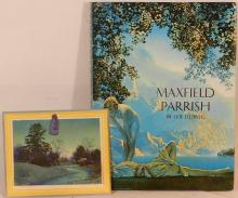 Maxfield Parrish - Coy Ludwig Book and 1947 Calendar