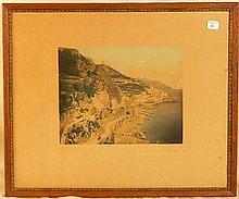 Wallace Nutting - Amalfi - Rare Italy