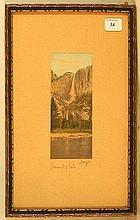 Charles Sawyer - Yosemite Falls - California