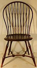 Wallace Nutting Furniture - #305 Bent-Rung Bamboo Windsor Side Chair