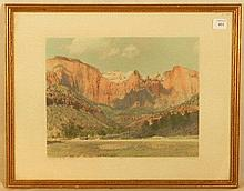 CD Ford - Towers of the Virgin - Zion National Park