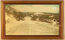 Charles Sawyer - Lord Farm, Dunbarton NH - Rare Snow