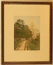 Wallace Nutting - The Abbey Road - Rare England