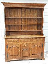 Wallace Nutting Furniture - #922 Oak Welsh Cupboard