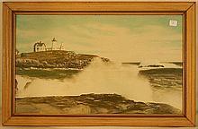 Charles Sawyer - Nubble Light. York Beach
