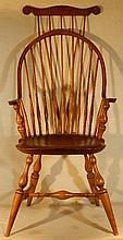 Wallace Nutting Furniture - #402 Continuous Arm Windsor Chair
