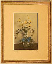 Wallace Nutting - Meadow Lilies - Floral Still Life