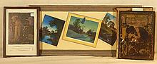 Maxfield Parrish - Century Magazine Print, Poems of Childhood Book & 3 Parrish Cards
