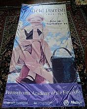 Maxfield Parrish - Banner from Museum Exhibition