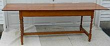 Wallace Nutting Furniture - #651 Connecticut-style Turned Tavern Table