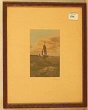 Charles Sawyer - Untitled Sail Boat