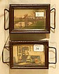 Fred Thompson - Two Miniature Pin Trays
