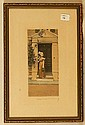 Wallace Nutting - Untitled Girl by Doorway