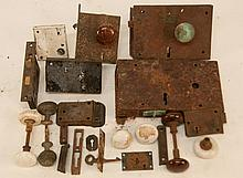18th & 19th C. Locks & Knobs