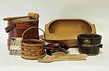 American Wooden Domestic Items