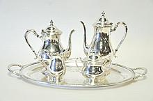 5-Piece Silverplated Tea Service